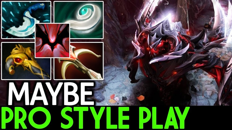 Maybe [Shadow Fiend] Pro Style Play Solo Mid Boss 7.20 Dota 2
