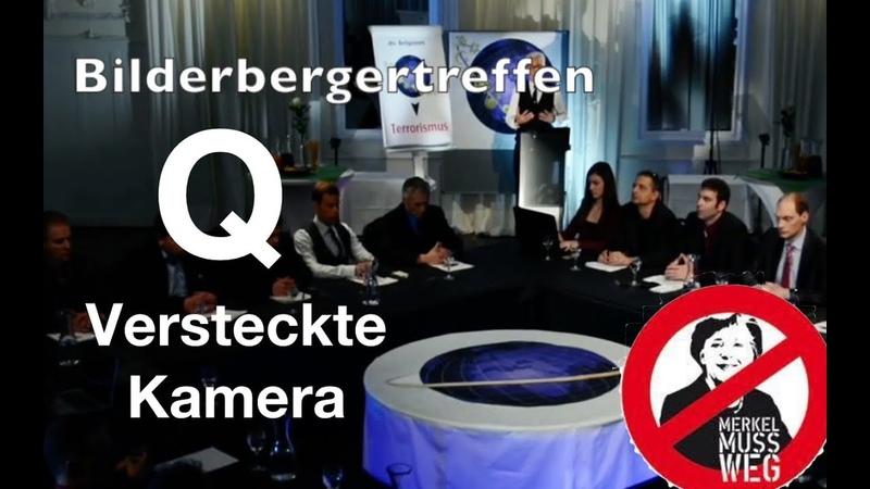 Versteckte Kamera Bilderberger planen NWO Diktatur mit Flüchtlingswaffe