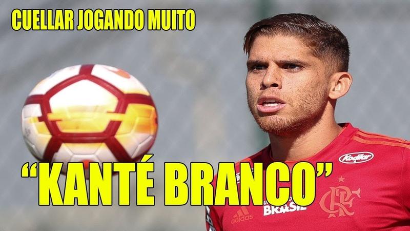 Benja tira o chapéu para Cuéllar no Flamengo: É o Kanté branco