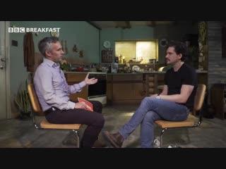 Kit Harington talks to BBC Breakfast