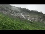 Водопад Призрачный на курорте Горки Город