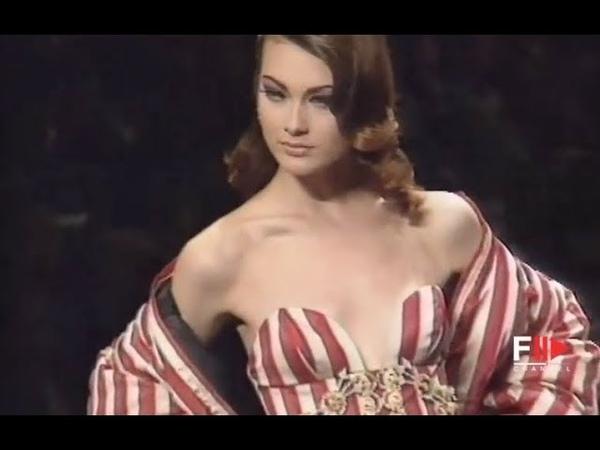 CHRISTIAN DIOR Fall Winter 1992 1993 Paris Fashion Channel