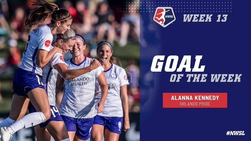 Week 13 Goal of the Week | Alanna Kennedy, Orlando Pride | NWSL 2018