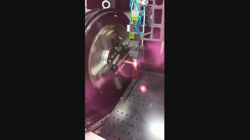 Golden Laser модель P2060 режет 1mm медную труб