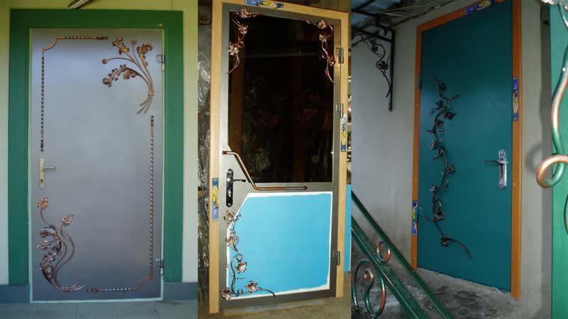 Входная металлическая дверь своими руками