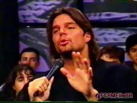 Ricky Martin   Entrevista e Musical   Programa Livre (Maio 1996)