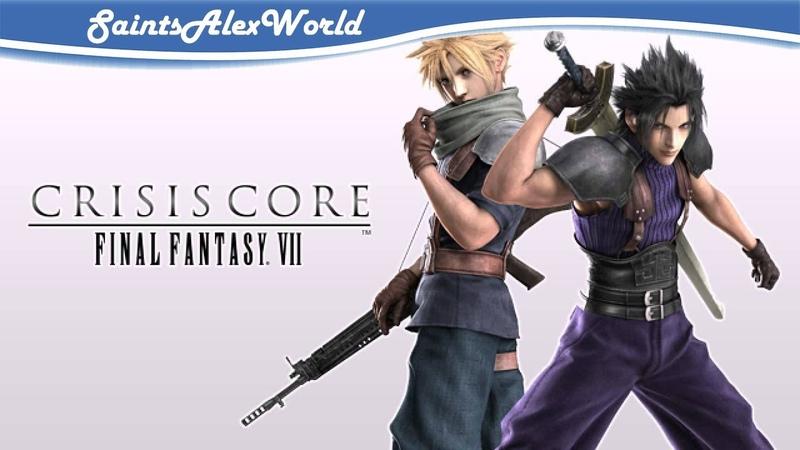 1| Crisis Core Final Fantasy VII - Знакомство с игрой.