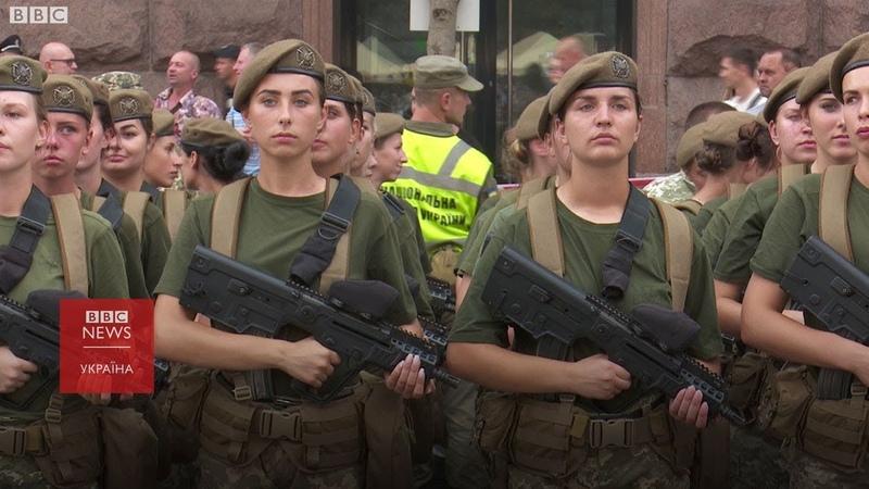 Хрещатиком вперше пройде жіночий батальйон