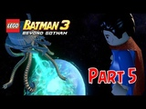 KERJA SAMA TEAM !!! Joker &amp Justice League - Lego Batman 3 Beyond Gotham