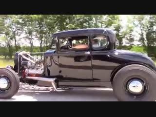 Flat head ford