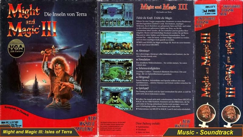 Might and Magic III Isles of Terra 💙 Music Soundtrack 💙 B 29