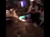 Бармен устроил огненное шоу и поджег посетителей ресторана