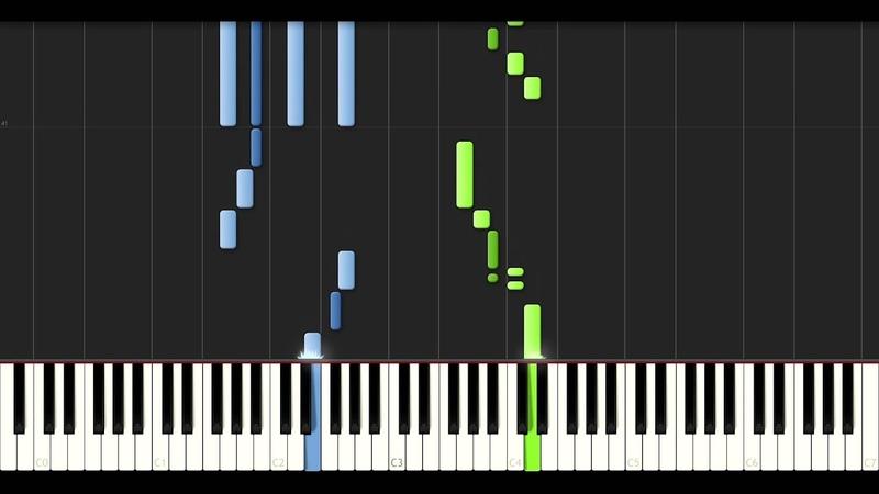 HWV 432 No. 6 (Passacaglia) - Handel [piano tutorial] [60 fps]