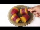 Мороженое фруктовый лед своими руками в домашних условиях замороженный сок