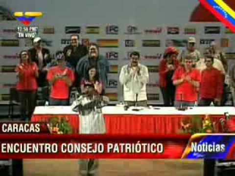 Canción de Podemos: ¡Chávez te lo juro, mi voto es pa' Maduro!