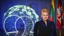 Lietuvos Respublikos Prezidentės Dalios Grybauskaitės sveikinimas šalies žmonėms Naujųjų metų proga