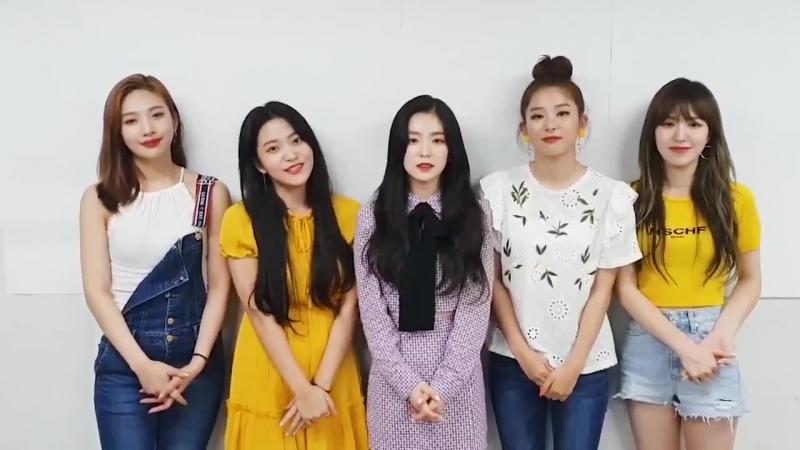180810 Spotify Message| Red Velvet