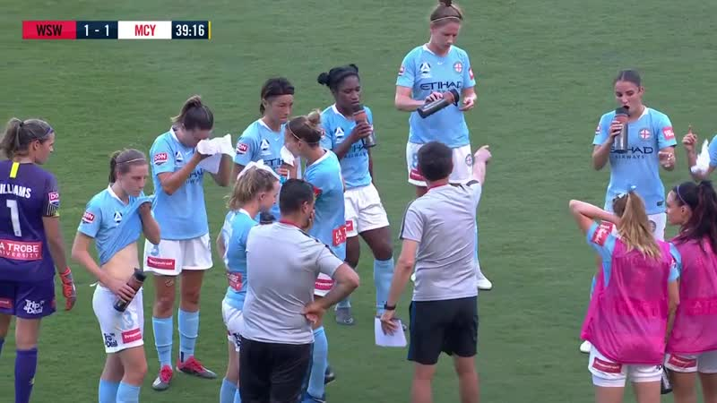 W-League 201819 Round 9 - Western Sydney Wanderers Women v Melbourne City FC Women