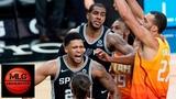 San Antonio Spurs vs Utah Jazz Full Game Highlights 12.08.2018, NBA Season