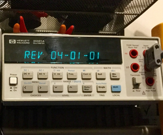 Unboxing and testing my new (used) AgilentHP 34401A bench meter