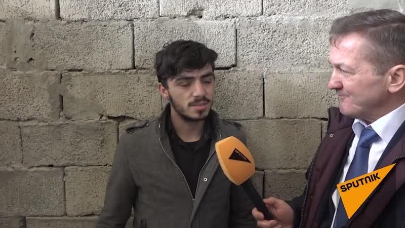 Студент Саид Исхак знает, что учится в университете, построенном советскими специалистами