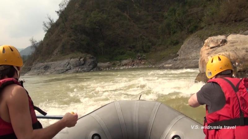 Рафтинг по Тризули - Первый раз в Гималаях