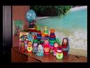 Матрёшки. Детский сад Снежинка-НОРД 2018 г. Группа 'Ромашки'