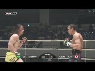 Yusuke Yachi vs. Luiz Gustavo (RIZIN FF - RIZIN 12 in Nagoya)