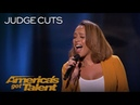 Glennis Grace Singer Performs Nothing Compares To You By Prince America's Got Talent 2018