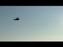 Вертолеты тушат пожар
