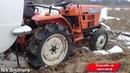 Откопали Жигули в песке.ВАЗ.Hinomoto C174.Поднимаем копейку с брюха