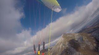 Поход-полет на параплане с вершины Бештау