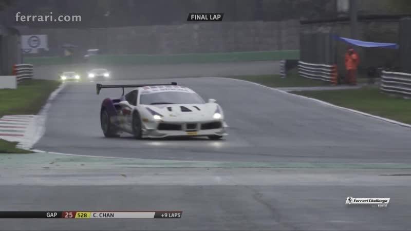 Ferrari Challenge APAC 2018. Finali Mondiali - Первая гонка