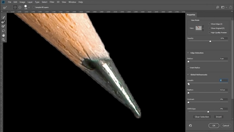 Magic Sliders for Fast Smooth Selections in Photoshop CC