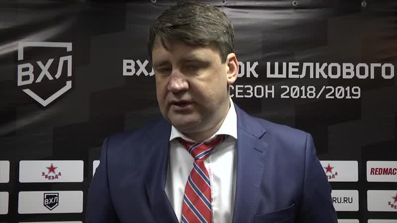 Владимир Чебатуркин о победе над «Югрой»