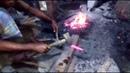 Blacksmith Primitive Technology Bangladeshi Street Blacksmith How Hardly Done This Job