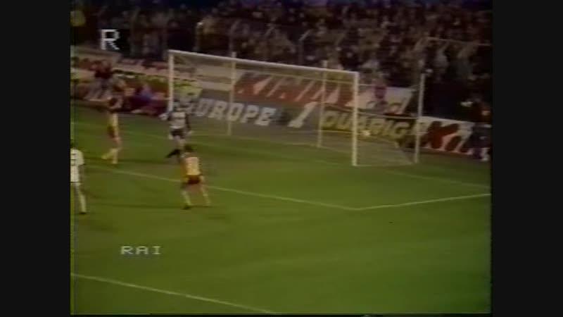 79 UC-1983/1984 RC Lens - Royal Antwerp FC 2:2 (19.10.1983) HL