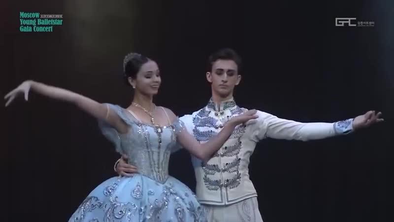 03.08.2018 Maria Bulanova and Egor Gerashchenko, Paquita Pas de deux