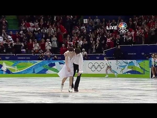 [HD]Tessa Virtue Scott Moir FD 2010 Vancouver Olympics (Symphony No.5 by Gustav Mahler)