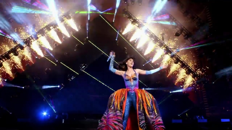 Katy Perry Firework From The Prismatic World Tour Live""
