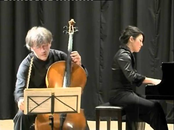 Robert Schumann Fantasiestücke op.73 Nikolaus TriebFumiko Shiraga.m4v