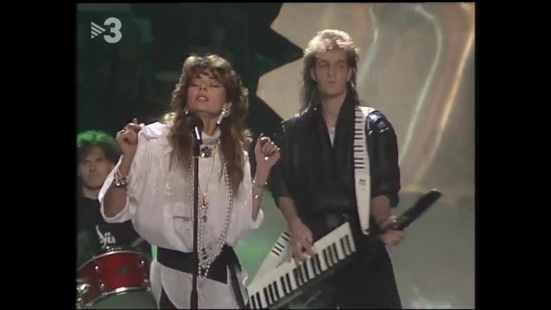 Sandra - (Ill Never Be) Maria Magdalena (TV3, Àngel Casas Show, 03.12.1985)HD