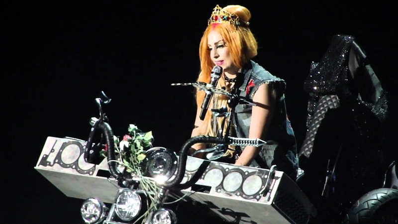 Lady Gaga Princess Die The Born This Way Ball in Melbourne June 28th HD