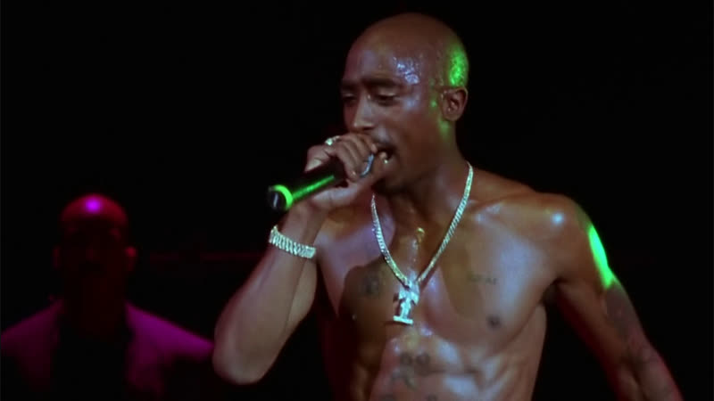 Тупак Шакур живой концерт в Доме Блюза 1996