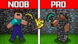 Minecraft NOOB vs PRO BEDROCK BATTLE CHALLENGE in minecraft Animation