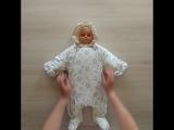 Новая модель. Обзор. Комбинезон для новорожденных.