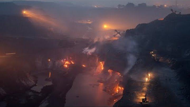 Эксклюзив Город Сибай горит под землёй