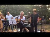 Sting, Chris Botti and Zucchero playing in a private party at
