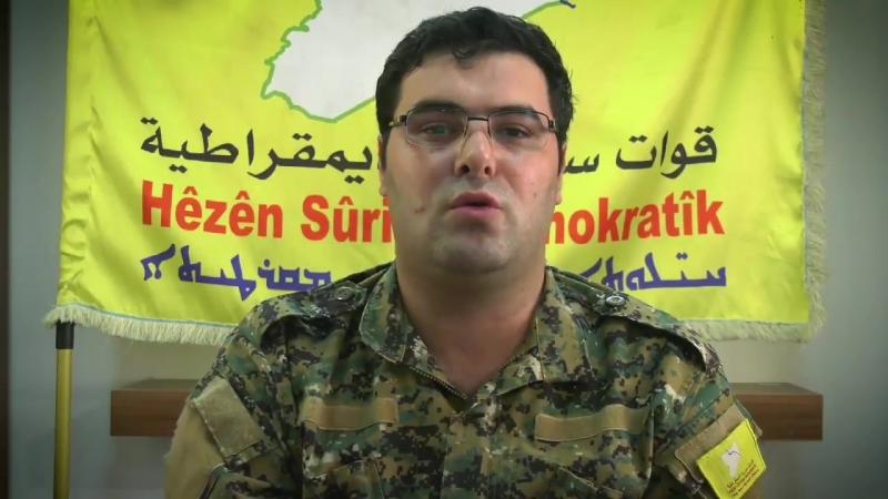 Kino Gabriel о визите представителей Коалиции в Кобани и Ракку