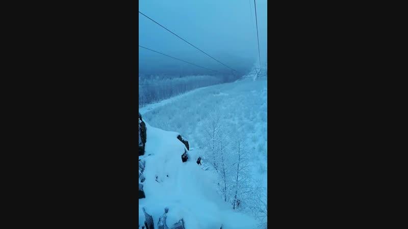 20181216 скалы перед вершиной Волчихи